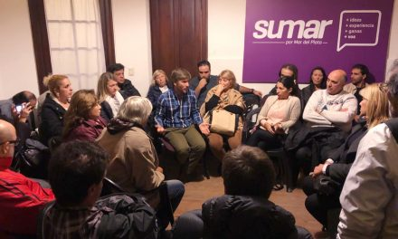 Numerosa reunión de Sumar por Mar del Plata
