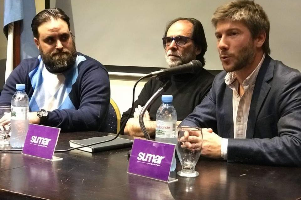 Jorge Coscia brindó una charla para Sumar por Mar del Plata