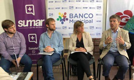 Sumar por Mar del Plata y el Partido Socialista presentaron la Junta Promotora Banco Municipal