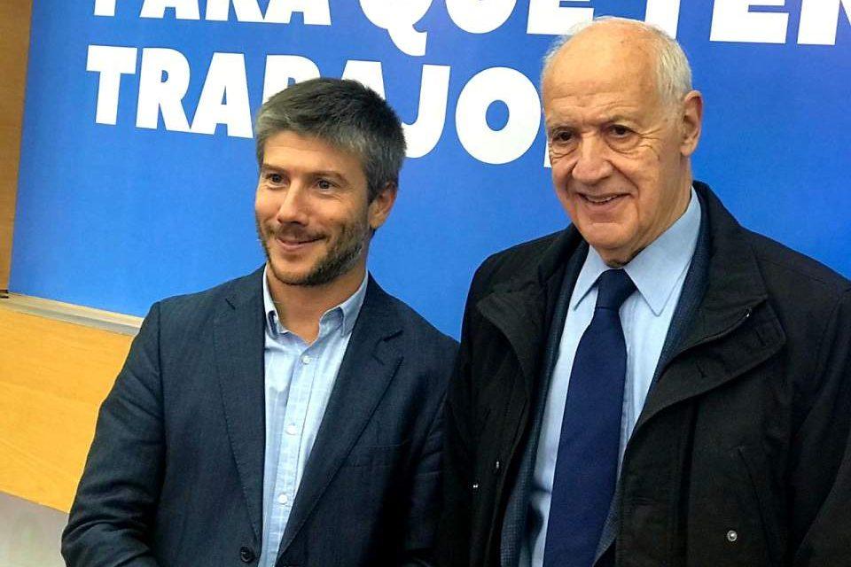 Bonifatti junto a Lavagna
