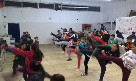 Taekwondo en Las Heras: una actividad que crece dia a dia en el local de AM
