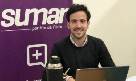 """Juventud de Sumar por Mar del Plata:""""Invitamos al intendente a aceptar el presente"""""""