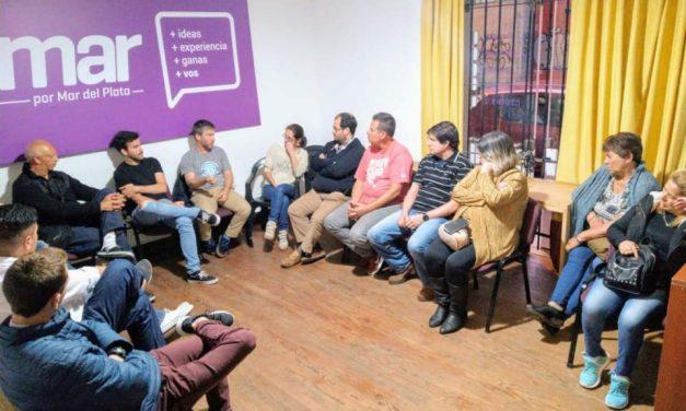 Reunión política de Sumar